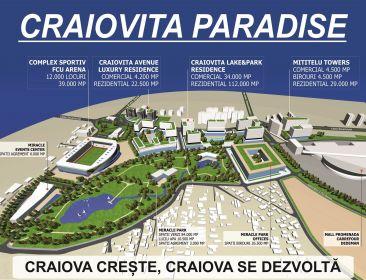 CRAIOVITA PARADISE - CRAIOVITA PARADISE sta pana la sf lunii februarie 2020