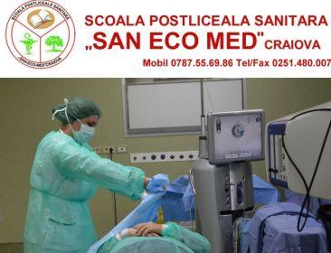 SAN ECO MED - Scoala Postliceala Sanitara