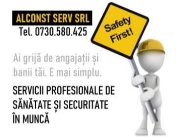 Servicii de sanatte si securitate in munca - Servicii profesionale de sanatate si securitate in munca.