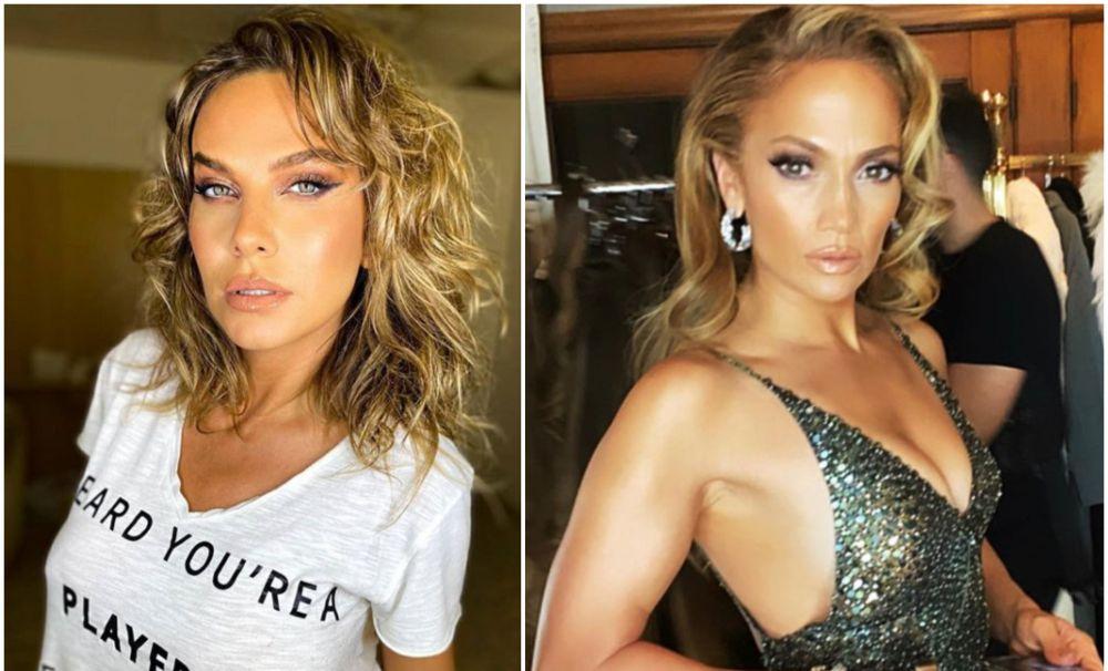Anna Lesko, în videoclip cu  Jennifer Lopez, pe Youtube