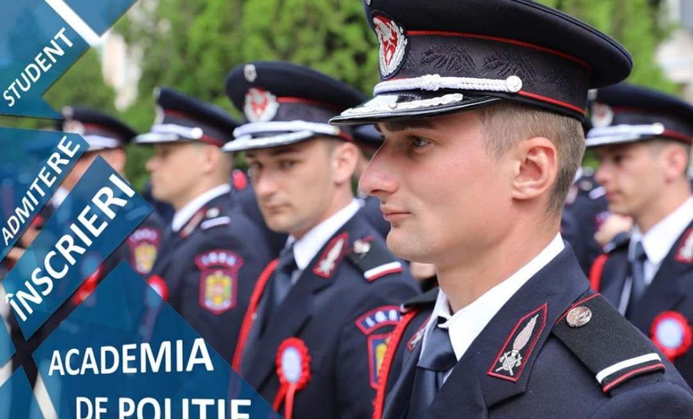Au început înscrierile la Academia de Poliție! Sunt 588 de locuri scoase la concurs!