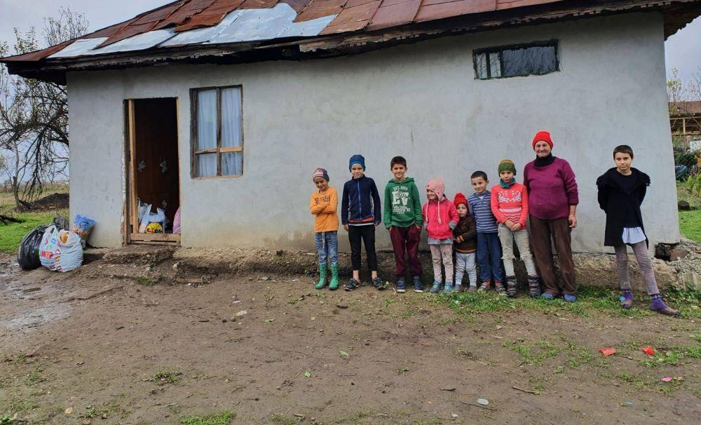 Au nevoie de ajutor! 8 copii trăiesc la limita sărăciei