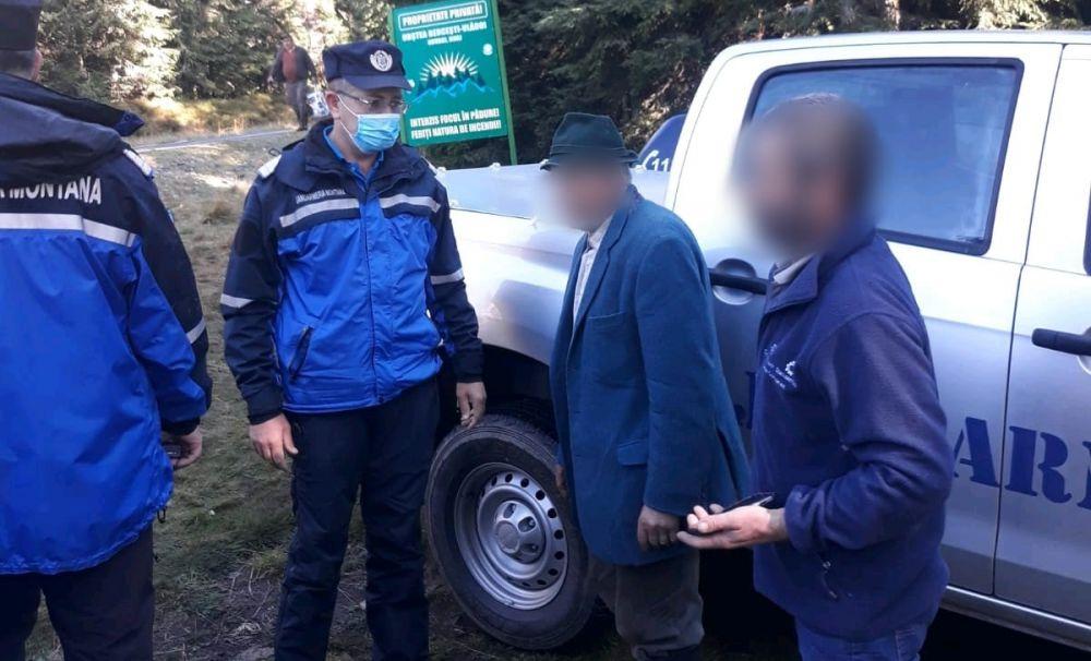 Bărbat dat dispărut a fost găsit de către jandarmii montani din Voineasa