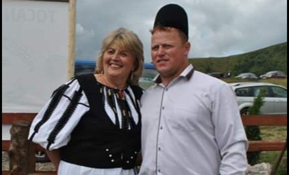 Celebrul Ghiţă Ciobanul din Jina, la stâna Ştefanu de pe Transalpina