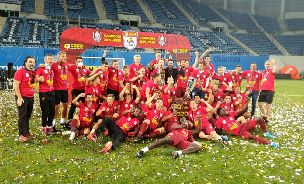 CFR Cluj, campioană la Craiova. Dan Petrescu a învins chiar fără să fie la meci!