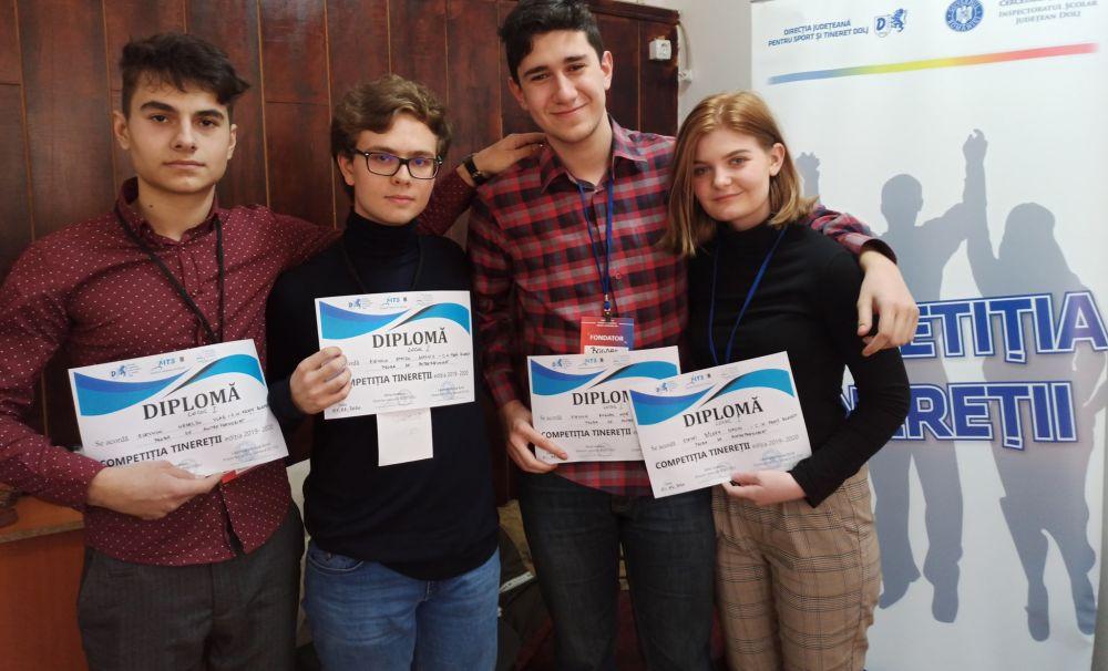 Competiția Tinereții- ediția a XII-a! Proba - Noi antreprenori