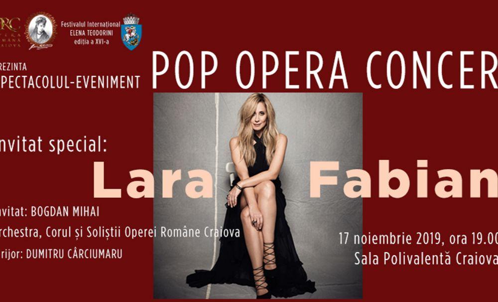 Concertul Operei Române Craiova susținut de Lara Fabian a fost anulat. Pentru a doua oară, se invocă presupuse cauze medicale. Se reprogramează?