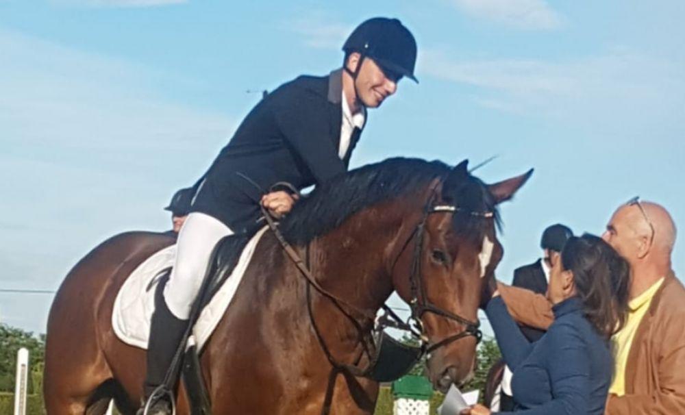 Craioveanul Vlad Gruia, pe podiumul național la călărie