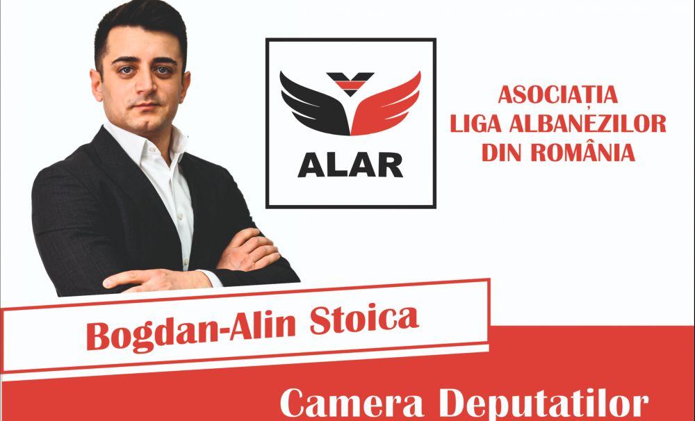 """Deputatul Bogdan-Alin Stoica (Liga Albanezilor""""): """"Avem obligația de a ne asigura că dreptul la învățătură nu rămâne doar o lozincă"""""""