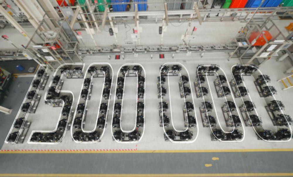 Ford România anunță astăzi atingerea pragului de 1,5 milioane de motoare EcoBoost 1.0 litri