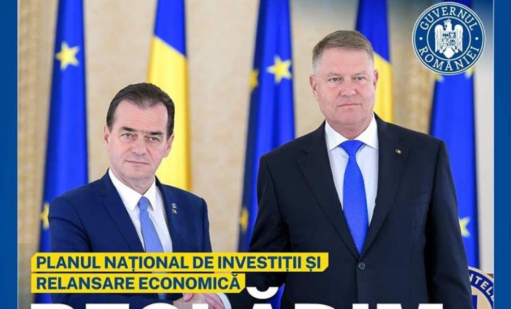Guvernul Orban: Dezvoltare prin investiții fără precent și plan de relansare economică prin susținerea companiilor românești