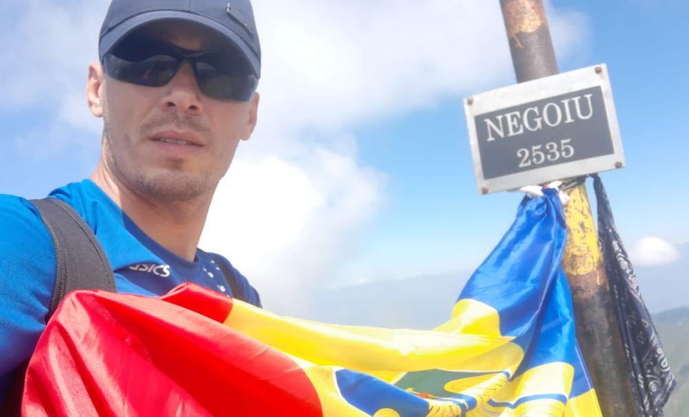 Jandarmul alpinist! A participat la 30 de maratoane  şi semimaratoane pentru cauze nobile