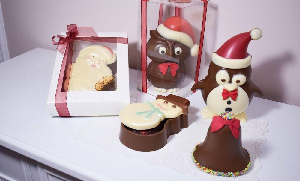Laboratorul de surprize dulci!  Cadouri din ciocolată pregătite pentru Crăciun