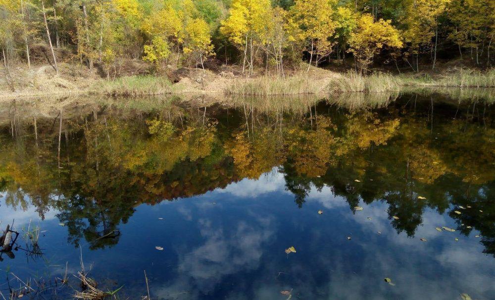 Lacul cu apă dulce  - Din Brazi - OCNELE MARI