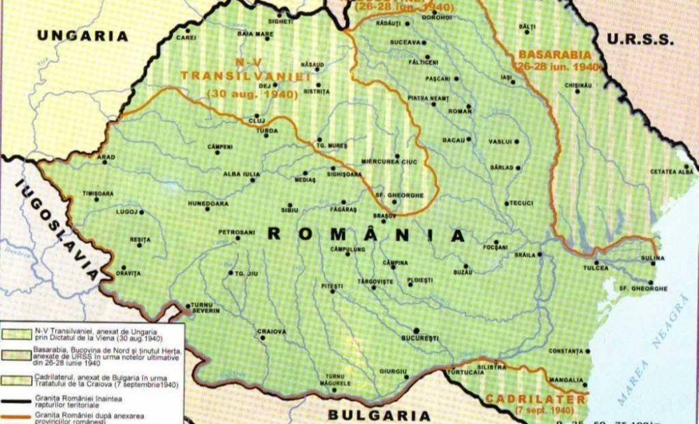 LECȚIA DE ISTORIE: Pierderea Cadrilaterului prin Tratatul de la Craiova - 07 SEPTEMBRIE 1940, ORA 15:20