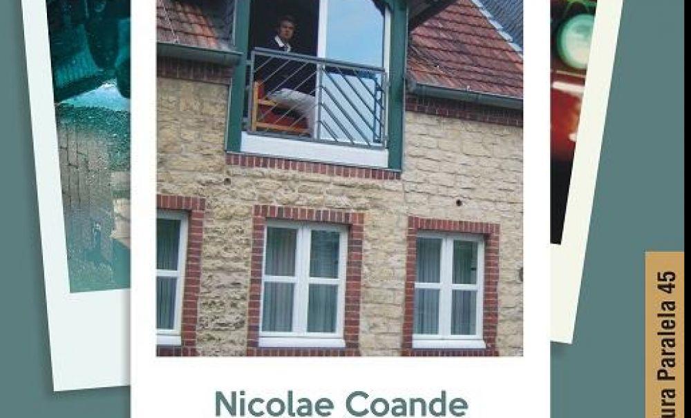 Mansarda Europa, jurnale și însemnări de Nicolae Coande, volum lansat la Gaudeamus București 2019