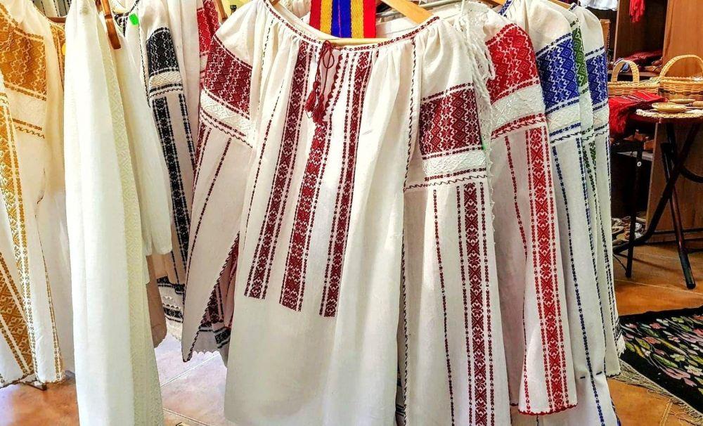 Mătase naturală, atelier de țesături populare, Borangic Niculescu (Stoenești, Vâlcea)