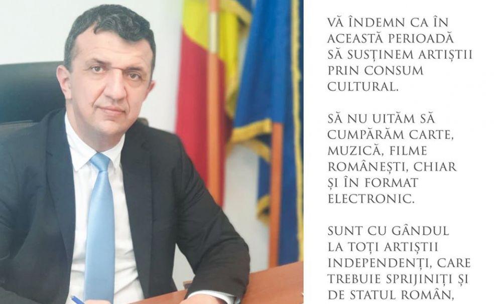 Mesaj impresionant al secretarului de stat Liviu Brătescu: Să continuăm să cumpărăm carte, muzică și filme românești