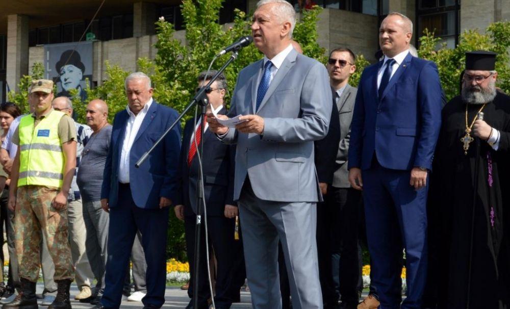Ziua Tricolorului, sărbătorită la Craiova. Mesajul președintelui Consiliului Județean Dolj