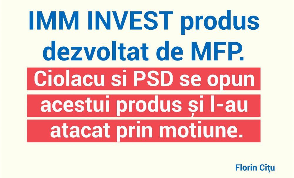 Ministrul Finanțelor: Ciolacu vrea România în criză!