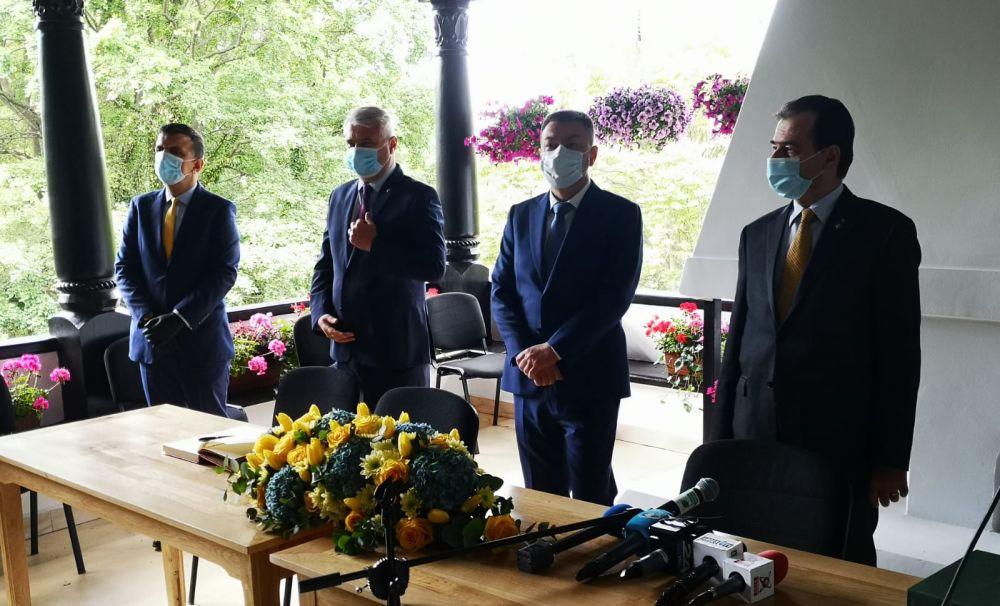 Muzeul Național Brătianu, inaugurat în prezența premierului Ludovic Orban