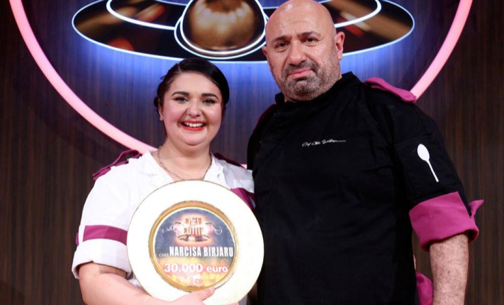 Narcisa Birjaru, prima femeie câştigătoare la Chefi la cuţite!