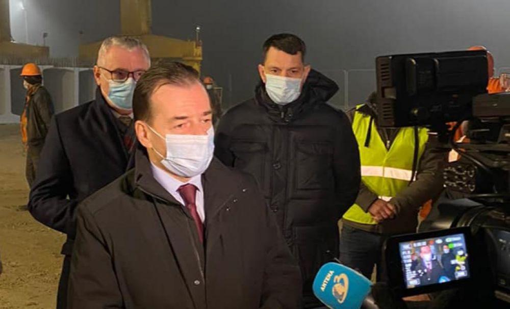 Orban, vizită-surpriză pe șantierul drumului expres Craiova-Pitești. Vești excelente pentru olteni!
