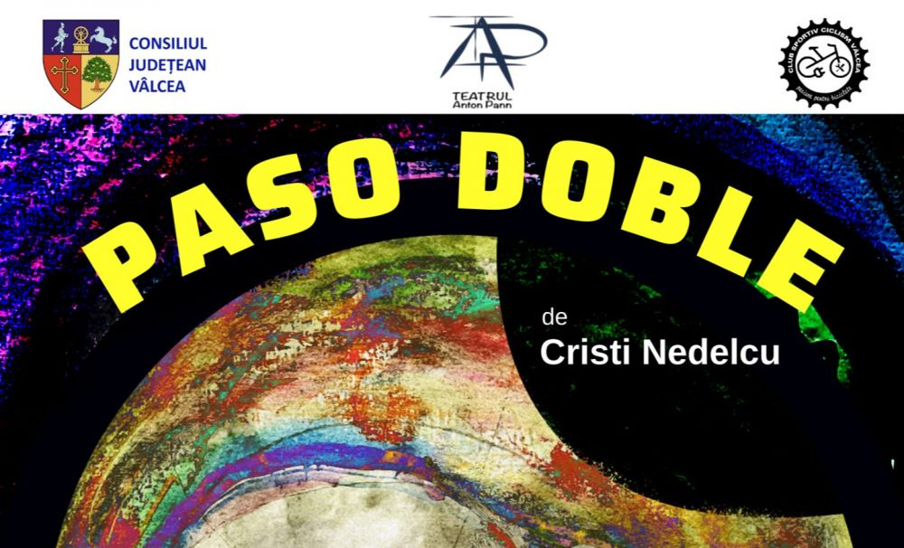 PASO DOBLE de Cristi Nedelcu  – premieră la Teatrul Anton Pan din Râmnicu Vâlcea