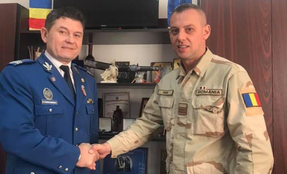 Plutonierul major Adrian Ivan de la IJJ Mehedinţi s-a întors acasă din Afganistan