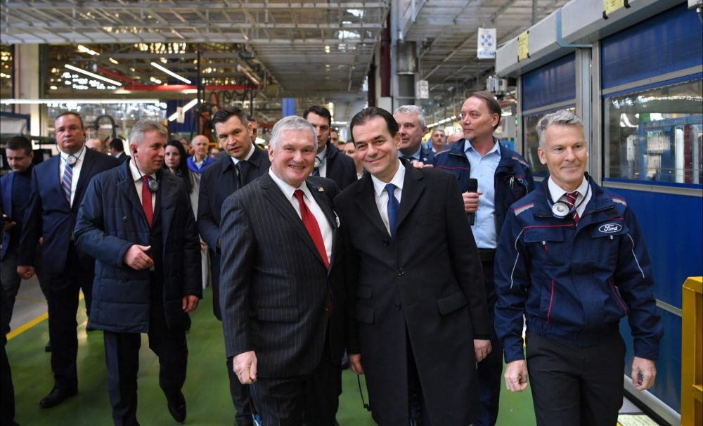 Premierul Ludovic Orban, o nouă vizită la Ford Craiova după reluarea producției