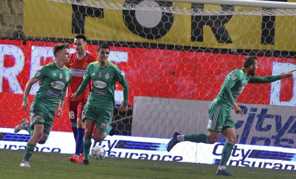 Primă dublă la Sepsi pentru victoria cu FCSB: câte 1.800 de euro