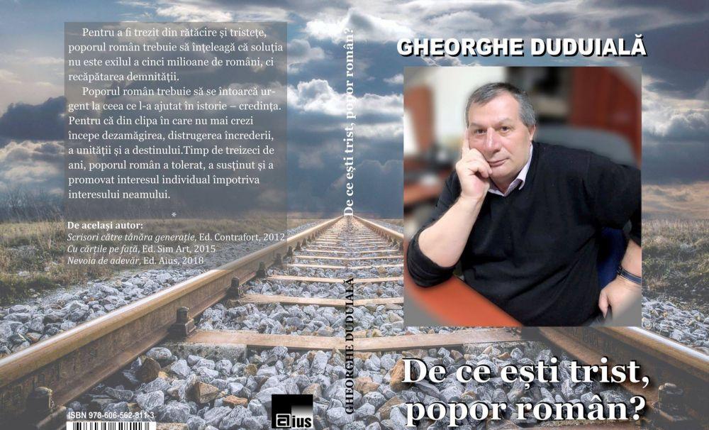 Provocare pentru cititori: o lectură incomodă de la un autor sincer, Gheorghe Duduială