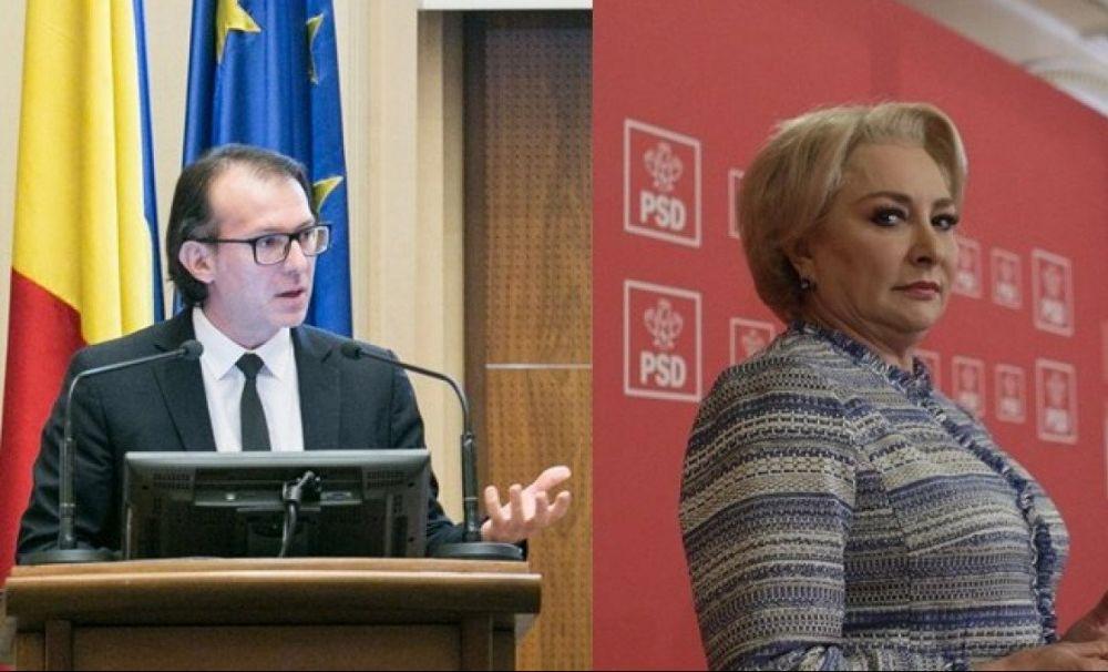 PSD în corzi! Comparație între Cîțu și Viorica Dăncilă: finanțist la Banca Europeană de Investiții vs analfabeta din Videle