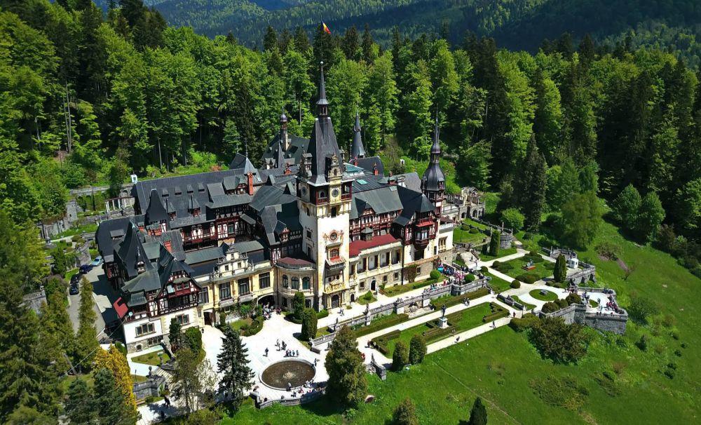 Punerea pietrei de temelie a Castelului Peleș 10 august 1875 - simbolul României Mari