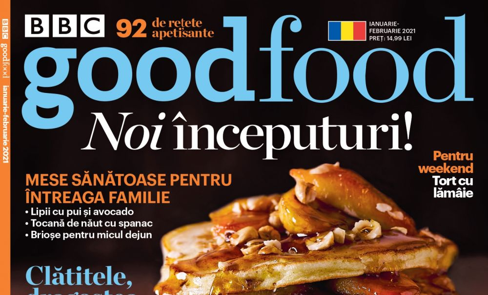 Revista BBC Good Food revine în România!