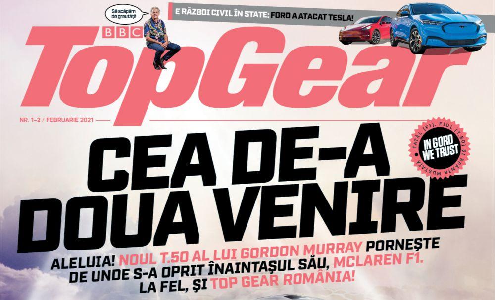 Revista BBC TopGear a revenit în România!