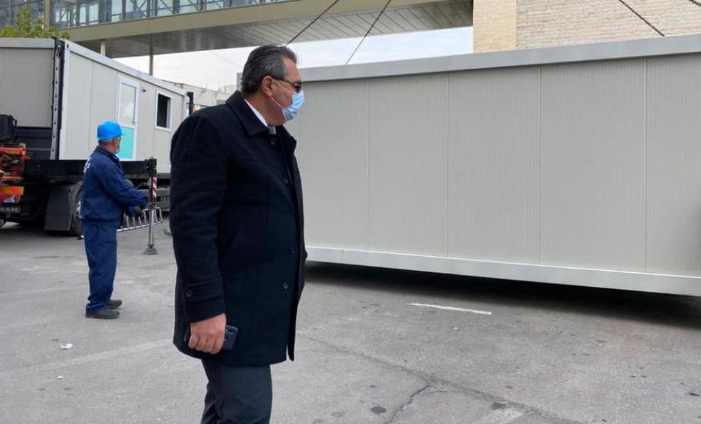 Şase containere modulare, repartizate la spitalele din Craiova
