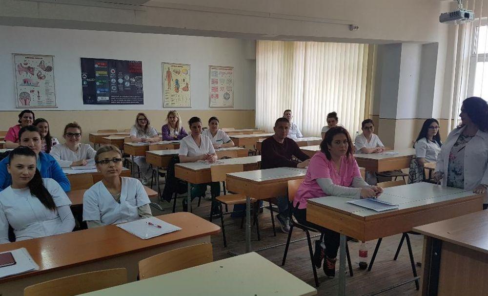 Școala Sanitară Postliceală SAN-ECO-MED face înscrieri la specializarea Asistent medical generalist