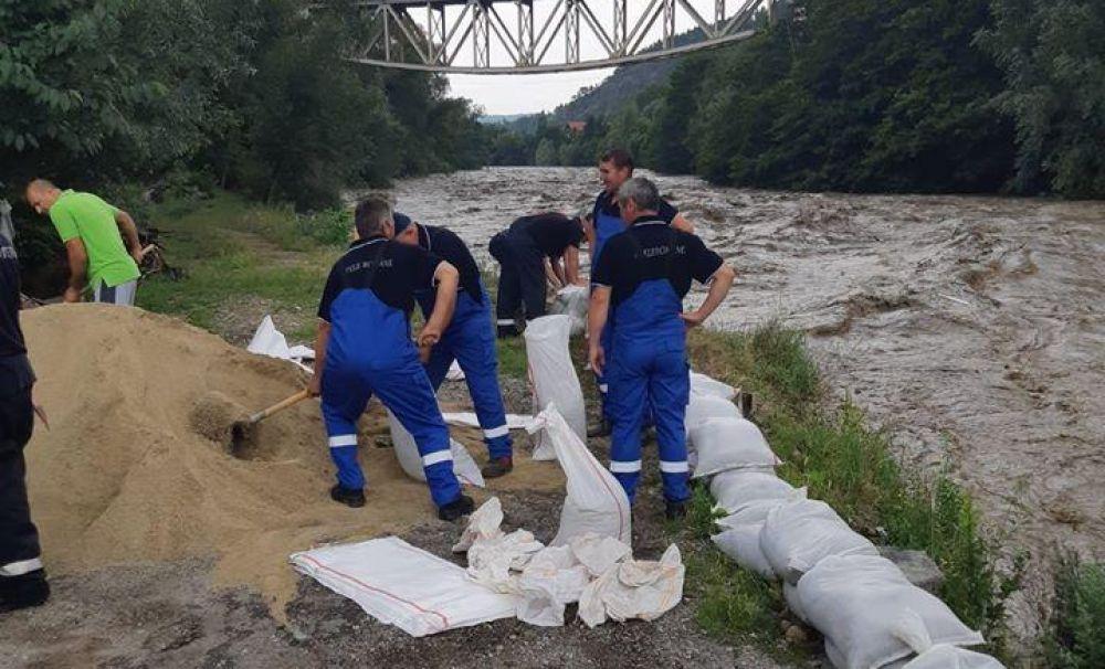 S.GA. Dolj este pregătit să intervină pe râul Jiu aflat sub Cod Portocaliu
