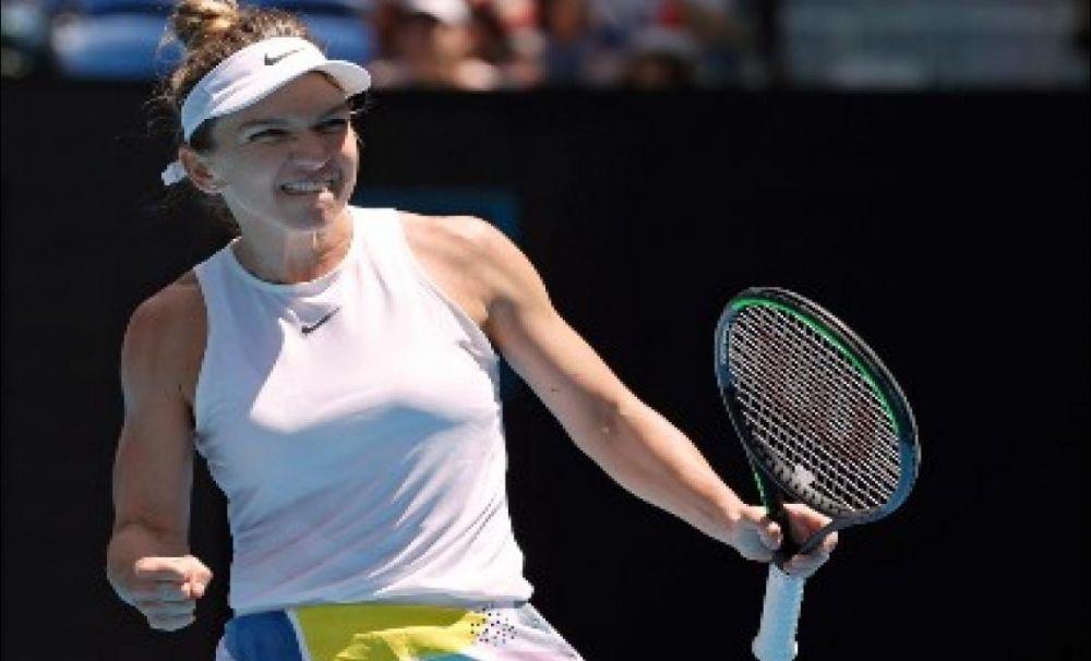 Și-a năucit adversarul! Simona Halep va juca din nou în semifinale la Australian Open
