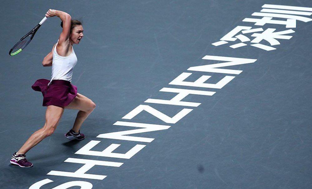 Simona Halep a câștigat duelul româncelor la Turneul Campioanelor. Bianca Andreescu promite revanșa în finală