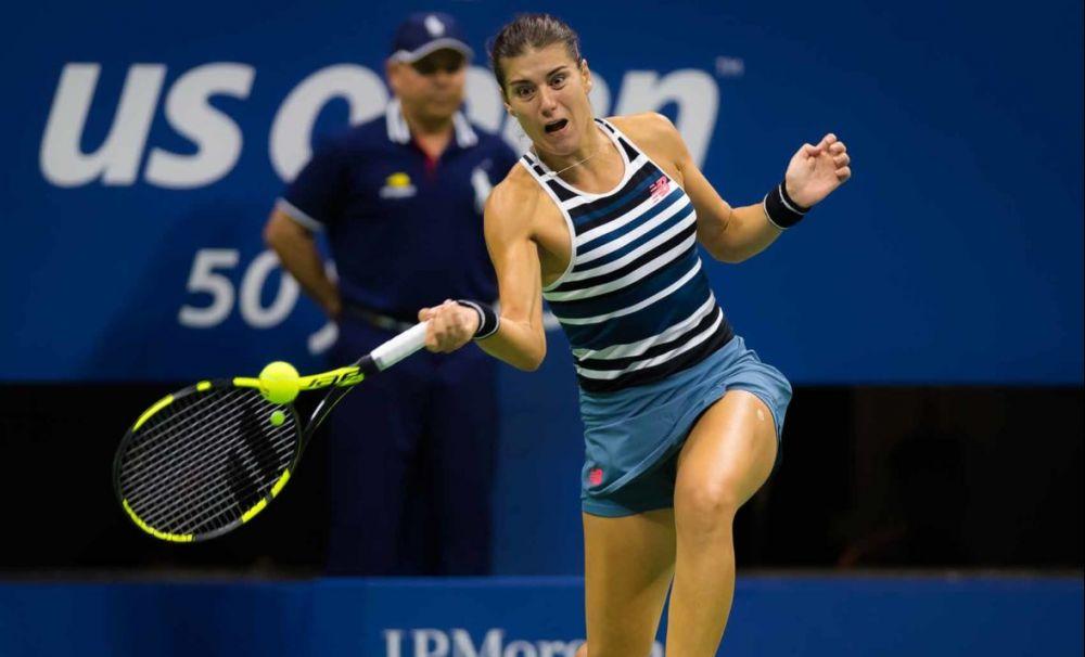Sorana Cîrstea, în turul III la US Open. Simona Halep, eliminare surprinzătoare