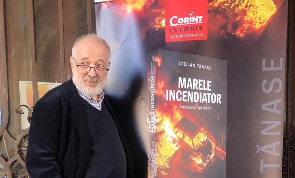 Stelian Tănase, lansare de succes la Palatul Jean Mihail din Craiova. Romanul Marele incendiator a cucerit publicul