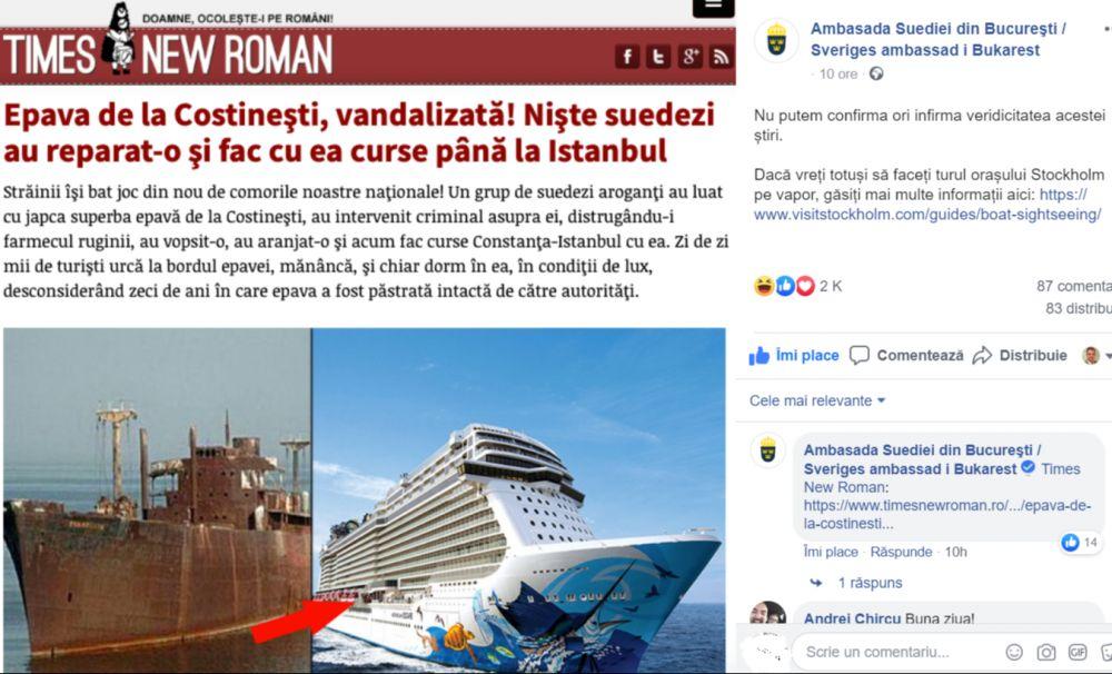 Suedezii au umor: Ambasada Suediei promovează turismul pe seama glumelor din Times New Roman