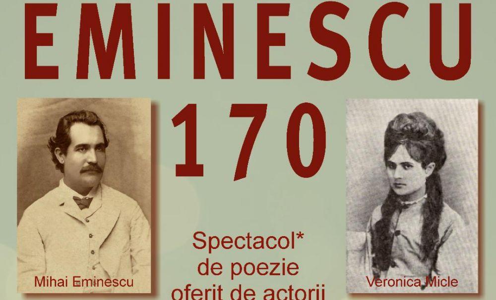 Teatrul Național din Craiova sărbătorește Ziua Culturii Naționale omagiindu-l pe Mihai Eminescu