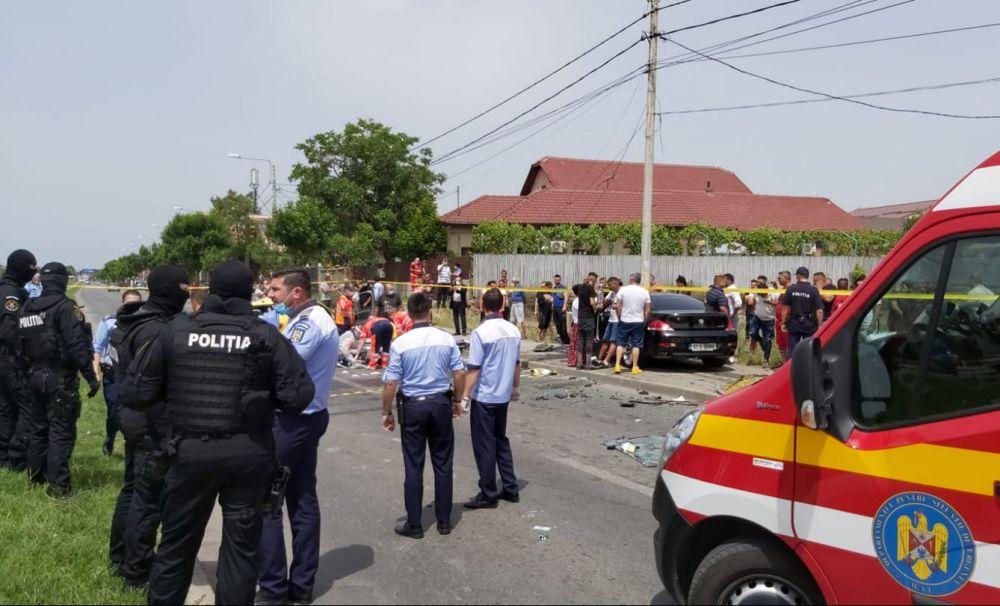 Tragedie în Craiova!  Un taximetrist şi clienta din taxi au murit pe loc