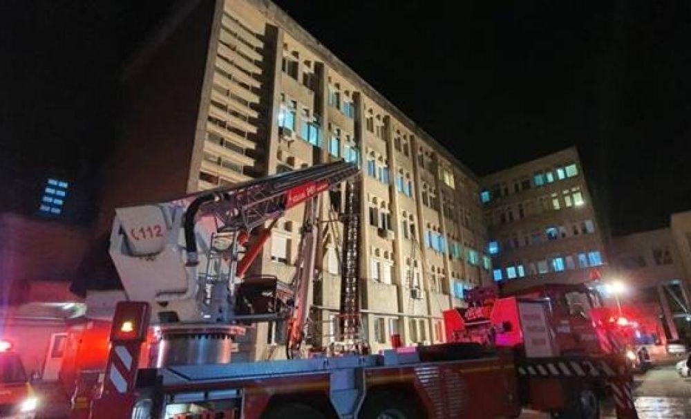 Tragedie în spital: 10 pacienți morți, 6 în stare critică după un incendiu. Explozia unei instalații de oxigen după un scurt circuit