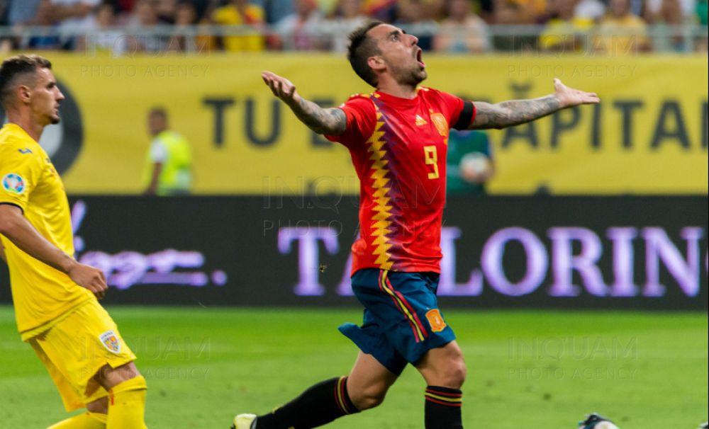 Tricolorii au căzut pe locul 4 în grupă după România - Spania 1-2 (0-1)