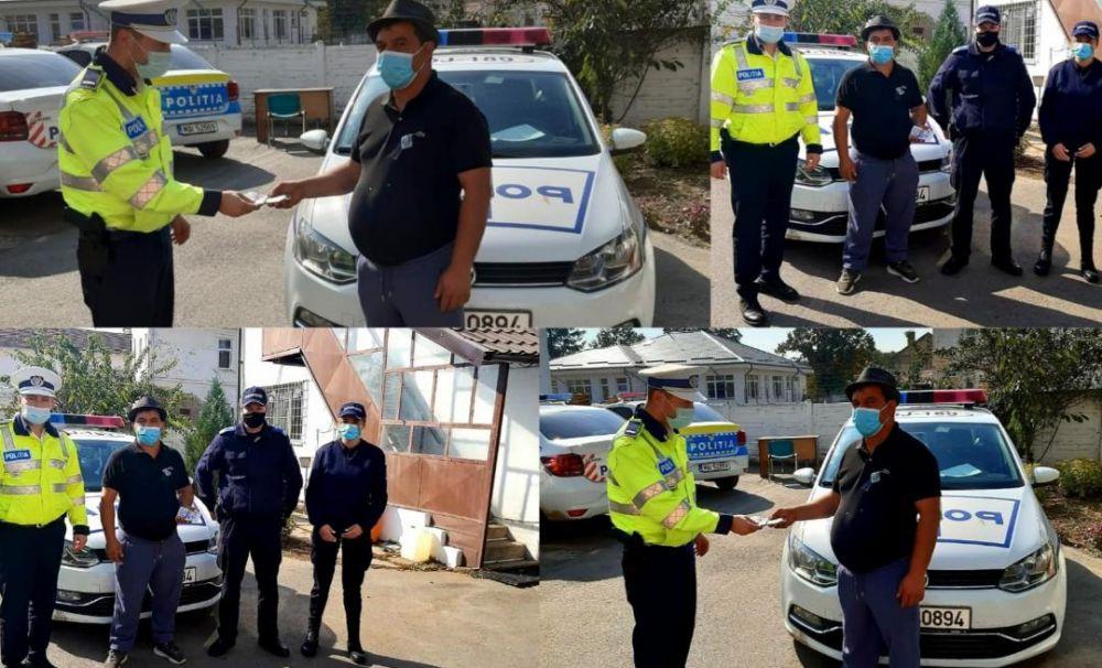 Un polițist din Băilești a găsit 1.300 de lire într-un autobuz în care făcea verificări pentru prevenirea răspândirii Covid-19