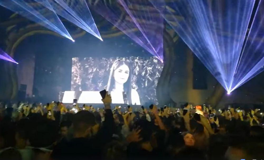 UNTOLD Chipul Alexandrei Măceșanu, proiectat pe scenă. Don Diablo i-a dedicat o melodie
